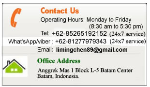 contact us Batam travel