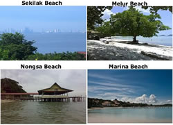 Beach in Batam