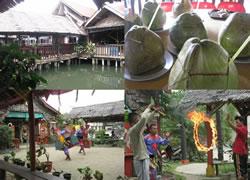 The Famous Seafood Restaurant Golden Prawn with Local Attraction